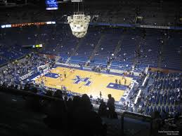 Rupp Arena Seating Chart Section 231 Rupp Arena Section 228 Kentucky Basketball Rateyourseats Com