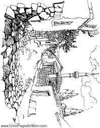 Small Picture Landscape Coloring Page 42
