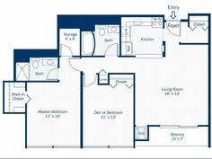 2 bedroom 2 bath floor plan of property detroit city apartments luxury apartment living