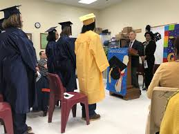"""VADOC on Twitter: """"Deerfield Women's Work Center's graduation ceremony  included four GED graduates, one High School graduate and one Computer  Applications graduate. Myra Chambers, Director of Alternative Learning for  Hampton City Schools"""