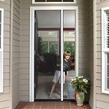 retractable screen patio. Tall Single Door Retractable Screen Kit Patio