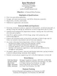 clerical assistant cover letter admin clerical resume shopmed info