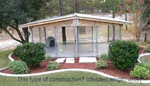 indoor outdoor dog kennel plans building designs