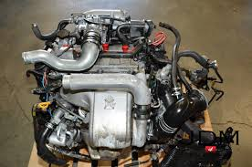 JDM 94-99 Toyota 3SGTE 2.0L DOHC Turbo Engine 5 Speed Transmission ...