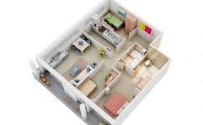 3 bedroom house plans with dimensions