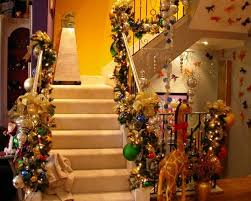 Christmas Decorations Designer Designer Christmas Decorations And This Stairs Living 13