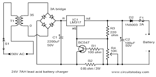 24 volt automatic battery charger circuit diagram best charger wiring diagrams schematic 24v battery charger gif spot the mistake page 11