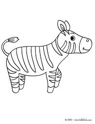 Small Picture Zebra picture coloring pages Hellokidscom