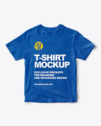 All free tshirt mockups consist of unique design with smart object layer for easy edit. T Shirt Mockup In Apparel Mockups On Yellow Images Object Mockups
