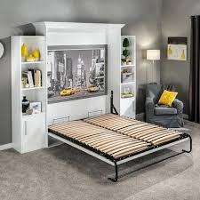Toddler Murphy Bed I Vertical Mount Bed Hardware Kits With Mattress ...