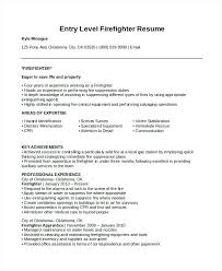 Firefighter Resume Templates Adorable Fire Chief Resume By Content Uploads Firefighter Resume Template