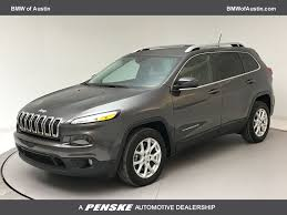 2015 Used Jeep Cherokee FWD 4DR LATITUDE at BMW of Austin Serving ...