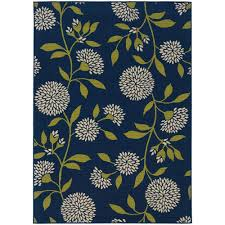 home decorators collection aster navy 5 ft x 8 ft area rug