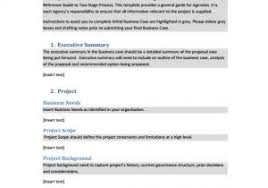 Simple Business Case Templates Simple Business Case Proposal Template Business Case Template