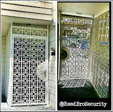 custom wrought iron security enclosure