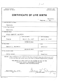 All About The Birth Certificates Fogbow