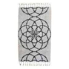 seed of life ii hand woven rug by jacqueline james 2