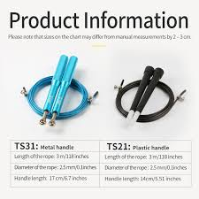 Tmt Speed Jump Rope With Aluminum Handle And Wire Rope Swivel Skipping Rope For Mma Boxing Crossfit Fitness Workout Training Gym