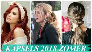 Nieuwe Makkelijk Kapsels Zomer 2018