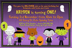 Free Halloween Birthday Invitation Templates 19 Halloween Birthday Invitations Psd Vector Eps Ai