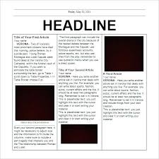 Free Front Page Newspaper Template Newspaper Template Psd Front Page Layout Example 3 A Tailoredswift Co