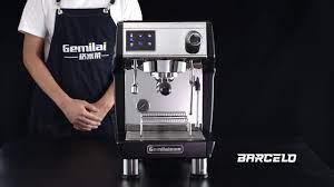 Máy pha cà phê CRM 3200 B - Hàng Chính Hãng - Barcelo Coffee