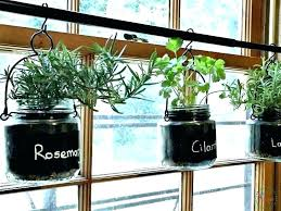 wall mounted herb garden indoor hanging how save hung diy