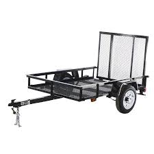 carry on trailer 4 ft x 6 ft wire mesh utility trailer with