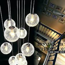 hanging ball chandelier plus chandelier with glass hanging ball chandelier 6 head modern cognac glass