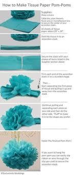 How To Make Fluffy Decoration Balls DIY Tissue Paper Pom Poms Paper pom poms Tissue paper and Bobby 44