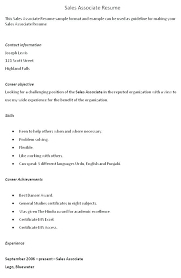 Objective For Sales Resume Unique 20 Objective For Job Resume ...