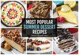 Preheat oven to 350°f, then spray a 13x9 baking dish with cooking spray. 40 Easy Summer Desserts No Bake Fruity Cold Lil Luna