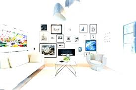 living room picture frames hanging ideas for frame feature wall photo industrial with white walls black