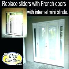 home depot sliding glass door installation cost replace sliding glass door with french doors cost of