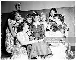 Cherry festival , 4 June 1952. Sandra lee Carter -- 16 years ;Iva... News  Photo - Getty Images