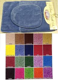 kmart bathroom rugs 3 piece bathroom rug set includes area rug contour rug and lid cover