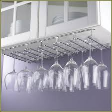 Cabinet Stemware Rack Ikea Home Design Idea Under Counter Wine Rack: The  Rack For Glass