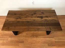 ive edge black walnut wood slab