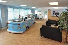 old cars make an awesome office space awesome office spaces