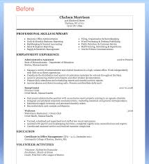 Sample Resume For Administrative Assistant Job Resume For Study