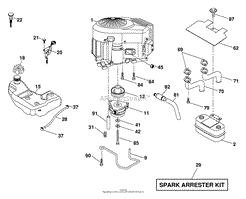 husqvarna lgt 2654 (96045000700) (2006 11) parts diagram for husqvarna lgt2654 engine at Husqvarna Lgt2654 Wiring Diagram