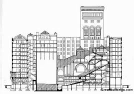 architectural drawings of buildings. Unique Buildings Architecture  Great Buildings Drawing  With Architectural Drawings Of