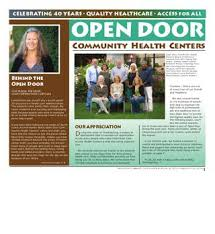 celebrating 40 years quality healthcare access for all open door