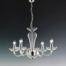 elstead oxford 8 light chrome glass ceiling chandelier ox8 intended for elegant home chrome and glass chandelier remodel
