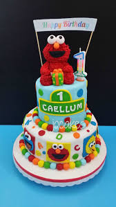 27 Brilliant Photo Of Elmo Birthday Cake Davemelillocom