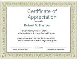 Sample Certificate Of Appreciation Impressive Word Template For Certificate Certificate Appreciation Sample Text