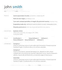 Resume Templates For Free Stunning Professional Resume Templates Free Download For Microsoft Word