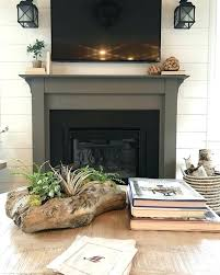painted fireplace ideas the fireplace surround is painted in gauntlet gray painted fireplace surround ideas painted fireplace