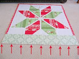 Bake Shop Basics: Quilt Borders Â« Moda Bake Shop & There often is a little bit of excess fullness or fabric on either the  border side or the quilt top. Whichever side seems more full, place towards  the feed ... Adamdwight.com
