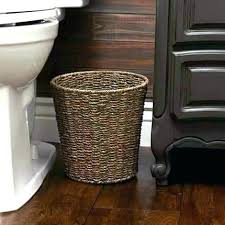 small wicker wastebasket with lid. Beautiful Wastebasket Basket Trash Can Wicker Baskets Garbage Small With Lid Amazon Throughout Small Wicker Wastebasket With Lid N